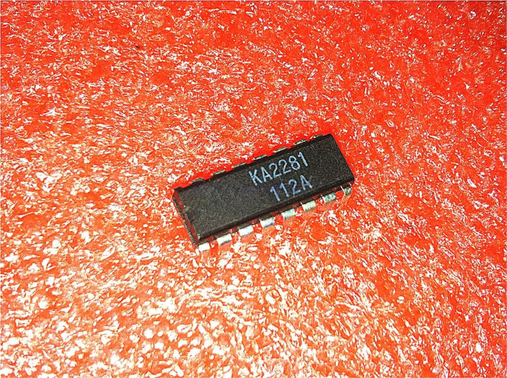 20pcs/lot KA2281 2281 DIP-16 In Stock