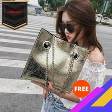 Big Bag Womens Summer New Style Fashion Large Volume Chain GIRLS Versatile Crossbody Bag shoulder bag  luxury handbags
