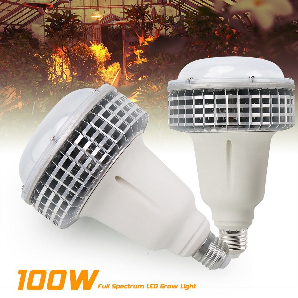 2PCS/lot 100W Phytolamp COB LED Grow Lights Full Spectrum Fitolamp Plant Led Lamp For Indoor Grow Box Flowers Lighting