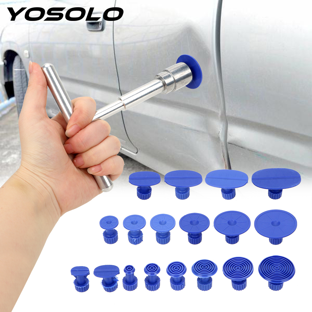 YOSOLO Universal Car Dent Repair Puller Hail Pit Sagging Repair Kit Sheet Metal Plastic Suction Cup Car Repair Tools