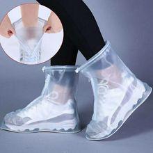 Водонепроницаемый чехол для обуви, силиконовый материал, унисекс, защитные сапоги от дождя для дома и улицы, пыленепроницаемые 2020 E0940