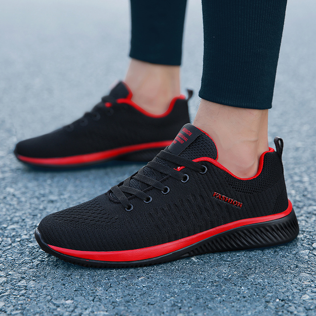 Men Sneakers Fashion Men Casual Shoes Breathable Men Shoes Walking Sneakers Men's Tennis Black Tenis Masculino Zapatillas Hombre 2