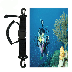 Scuba Diving Dive Canoe Camera Lanyard With Quick Release Buckle And Clips For Under Kayaking Swimming Sports Accessory