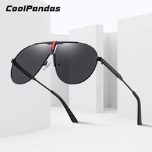 Солнцезащитные очки авиаторы coolpandas в металлической оправе