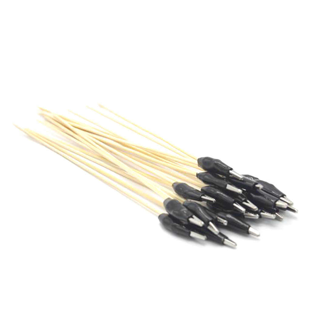10/20/30 pçs de aço inoxidável cor pintura braçadeira clipe vara para diy modelo conjunto airbrush hobby modelo conjuntos de ferramentas de construção