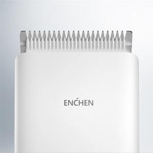Image 4 - 在庫youpin enchenブーストバリカンusb充電式 2 速度セラミックカッター髪ヘアトリマー子供バリカン