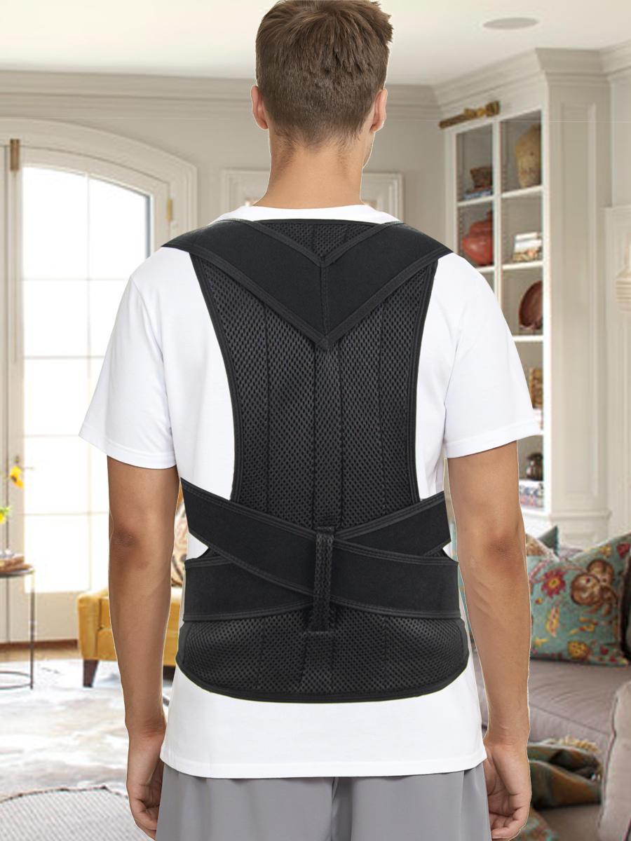 Corrector-Back Posture Brace Back-Trainer Support-Stop-Slouching Hunching Adjustable