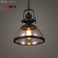 Artistic Vintage industrial Hang lamps pendant lights led lights for home nordic pendant light fixtures loft style hanging