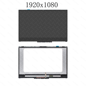"Image 5 - 15.6 ""LCD LED Display Touchscreen Digitizer + Lünette Für Lenovo Yoga 730 15IKB 81CU Yoga 730 15IWL 81JS NV156QUM N51 N156HCE EN1"