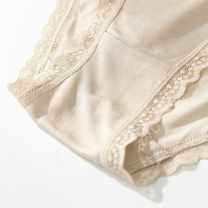 Image 4 - 4 แพ็คสตรี 100% ผ้าไหมผ้าไหมบางชุดชั้นในชุดชั้นในชุดชั้นใน M L XL TG008