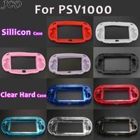 JCD-carcasa protectora rígida para Sony psv1000, Psvita PS Vita PSV 1000, funda de silicona suave, Protector de piel