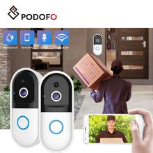 PODOFO Doorbell WiFi Camera Wireless HD Waterproof Night Vision Two Way Audio Home Security Network Camera