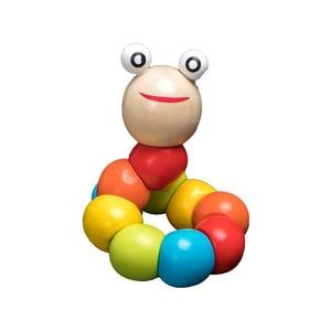 Image 2 - QWZ مونتيسوري ألعاب خشبية الطفولة ألعاب تعلم الأطفال أطفال طفل كتل خشبية ملونة التنوير لعبة تعليمية