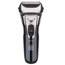 Electric Razor, Electric Shavers for Men, Dry Wet Waterproof