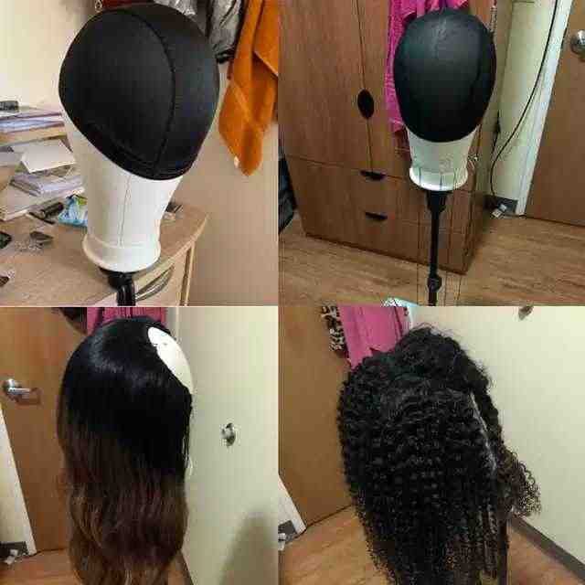 キャンバスヘッドかつらスタンドマネキンヘッドかつらホルダー女性のためのかつら Maniquin 頭髪ハンガーマネキンヘッドかつらヘッドスタンド