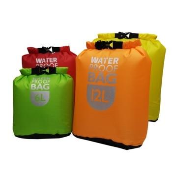 цена на 6L12L24L Waterproof Dry Bag Pack Sack Swimming Rafting Kayaking River Trekking Floating Sailing Canoing Boating Water ResistancE