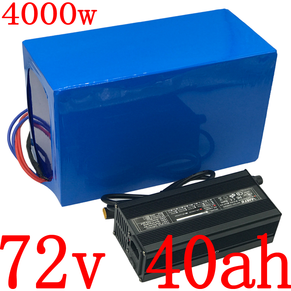<font><b>72V</b></font> Ebike <font><b>Battery</b></font> pack <font><b>72V</b></font> 20Ah 25Ah 30Ah 35Ah <font><b>40Ah</b></font> Electric Bike <font><b>Lithium</b></font> <font><b>Battery</b></font> for <font><b>72V</b></font> 2000W 2500W 3000W Motor+ 5A charger image