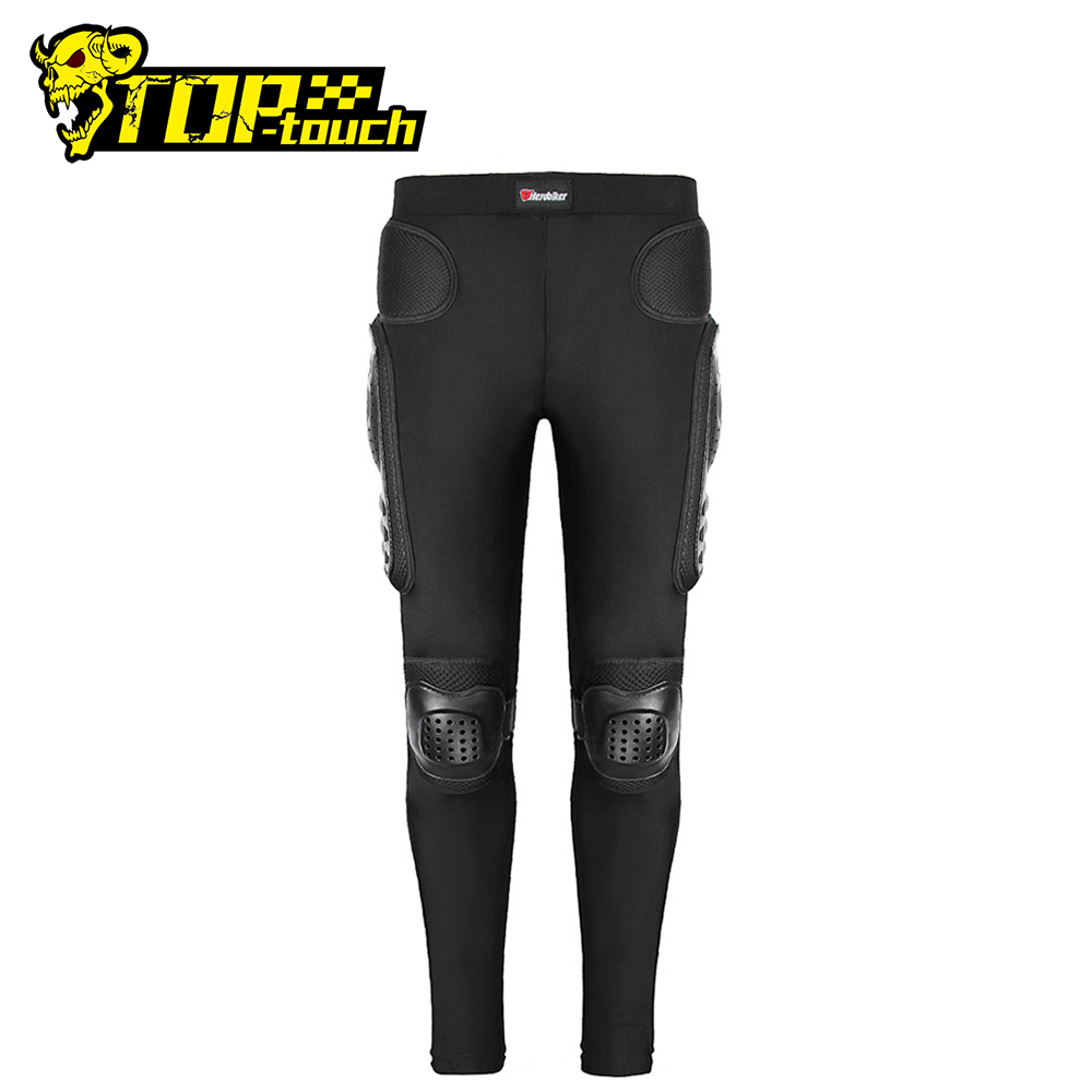 HEROBIKER Motorcycle Pants Long Armor Motorcycle Motocross Pants Ski Skating Cycling Motocross Protective Gear Hip Protector