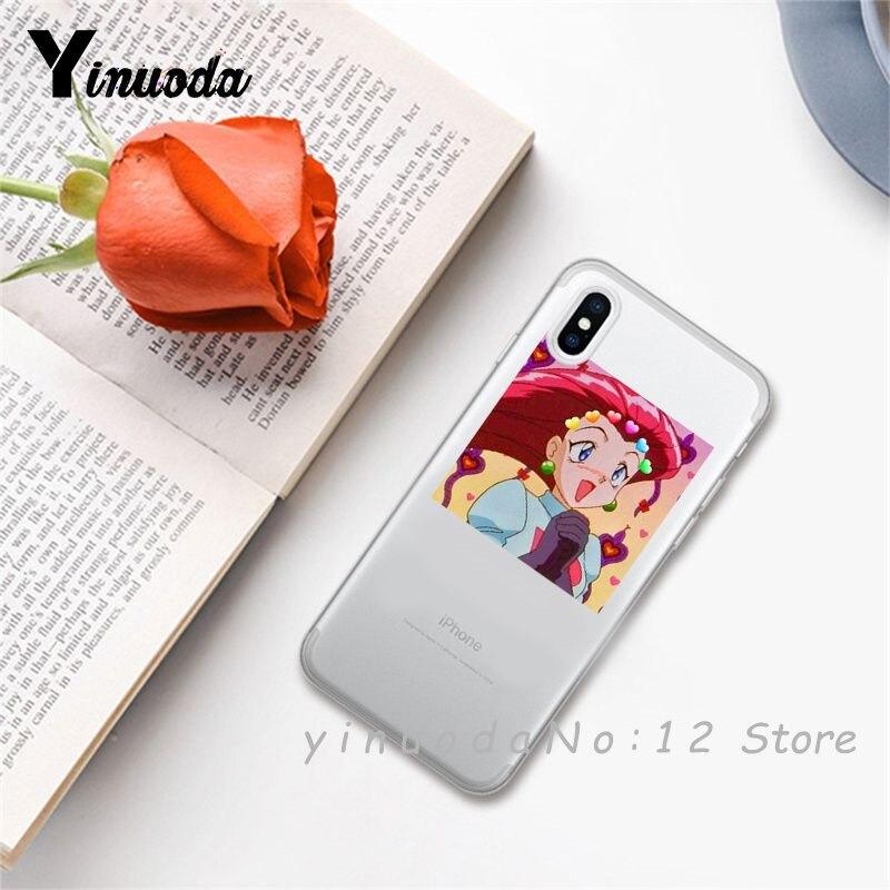 Yinuoda супер милый кот собака мультфильм розовый в форме сердца ты и я серия HD Прозрачный чехол для телефона для iphone 6 7 8 Plus X XS XSMax 5S - Цвет: 23