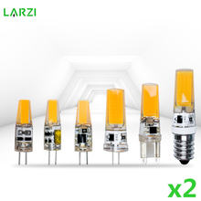2 шт/лот led g4 g9 e14 Лампа ac/dc с регулируемой яркостью 12