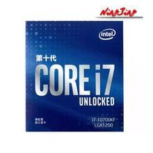 Intel Core i7 i7-10700KF 10700KF 3,8 GHzEight-Core 16-Hilo de procesador de CPU L2 = 2M L3 = 16M 125W LGA 1200 sellados, pero sin enfriador