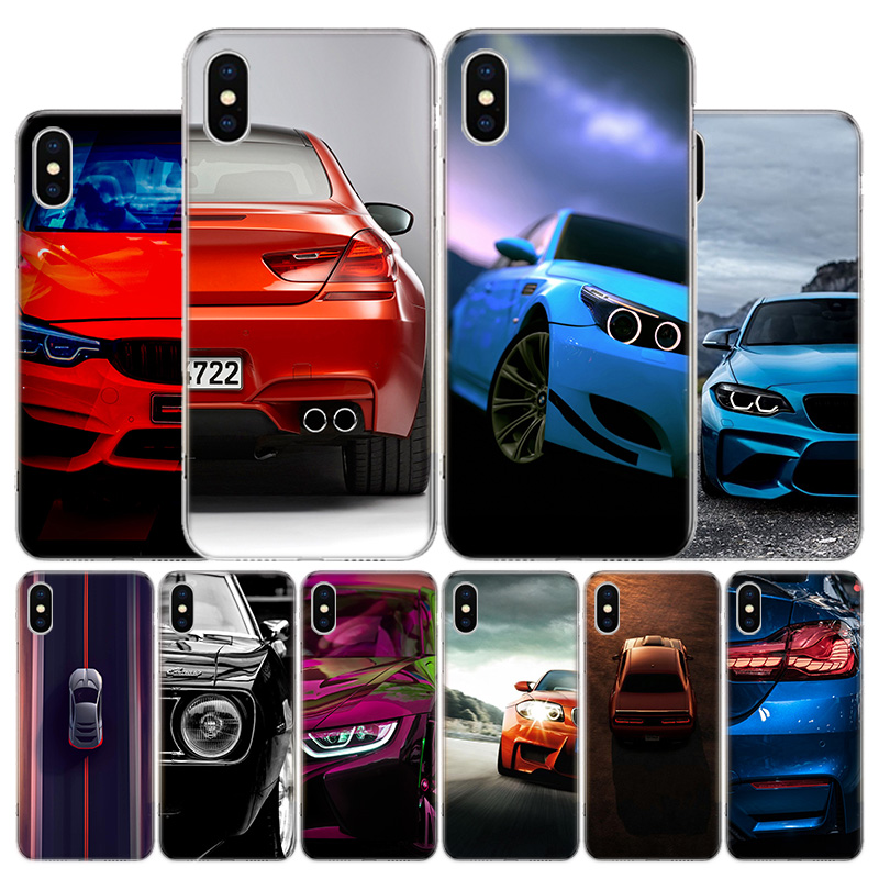 Blue white black For BMW Phone Case For Apple Iphone 11 Pro X XR XS Max 7 8 6 6S Plus 5 SE 7G 6G + Art Cover Coque Capa Shell image