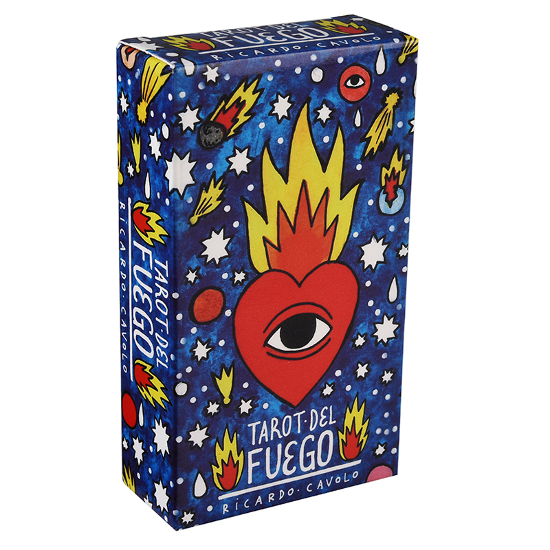 Tarot Del Fuego Cards Game English Tarot Deck Table Card Board Games For Party Playing Tarot Cards Entertainment Family Game