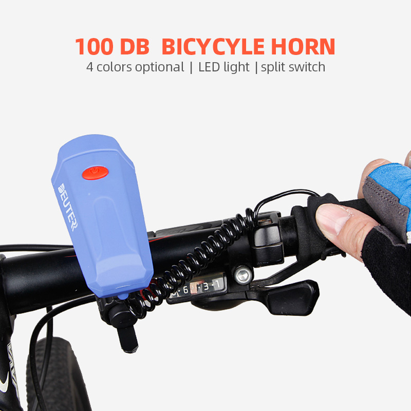 Bicycle horn metal Black color bell safety mountain bicycle warning horn