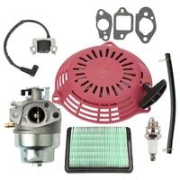 Lawn Mower Air filter Spark plug Carburetor Gasket Parts Accessories For Honda GCV160 GCV135