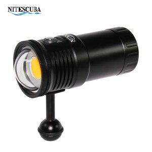 Image 1 - Nitescuba NSV60 diving video light 6000lumen High CRI=90
