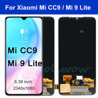 Original For Xiaomi Mi CC9 LCD Display Touch Screen Digitizer Assembly Mi9 lite Display For Xiaomi Mi 9 lite M1904F3BG LCD