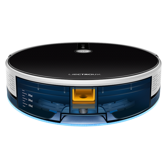 C30B Robot Vacuum Cleaner Map Navigation,WiFi App,4000Pa Suction,Smart Memory,Electric WaterTank,Wet Mopping,Disinfect 5