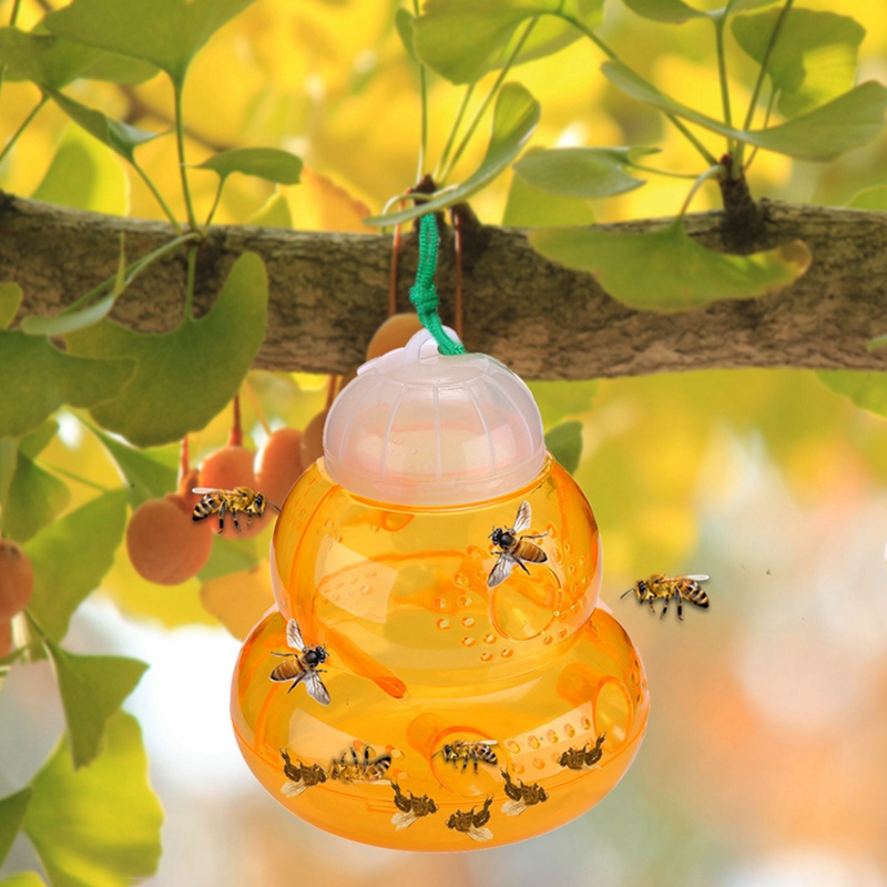 Bee Catcher Outdoor Hanging Trap Effective And Reusable Safe Natural For