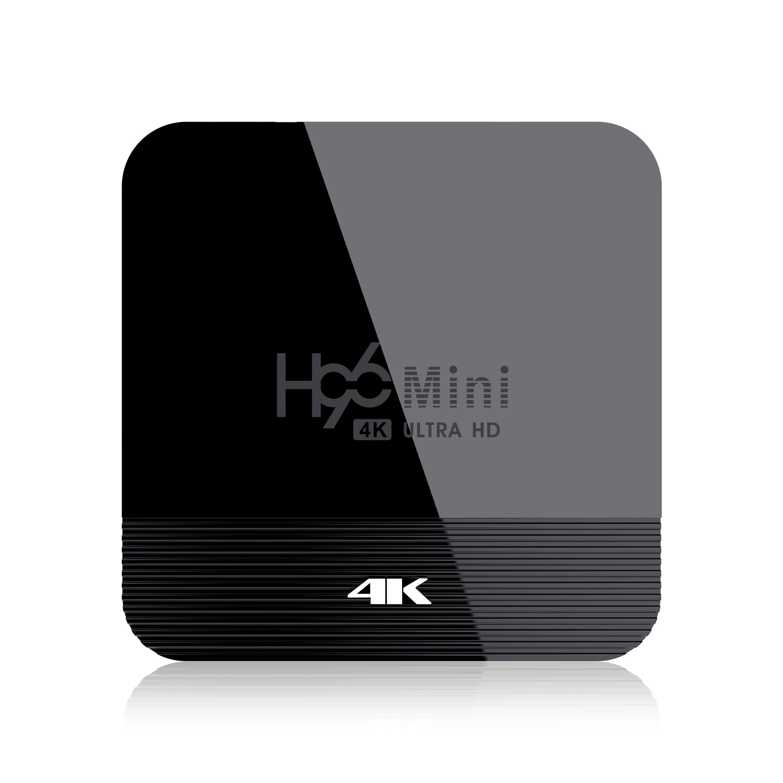 Newest H96mini H8 RK3328A  Android 9.0 TV Box 2GB/16GB 2.4G +5G Band Wifi 4K H.256 Set Top Tv Box