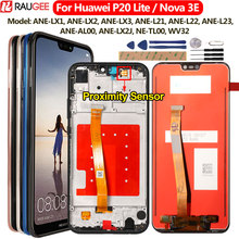 For Huawei P20 Lite LCD Display+Touch Screen Digitizer Replacement Assembly For Huawei P 20 Lite/ Nova 3E ANE LX1 ANE LX3 5.84""