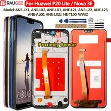 "Voor Huawei P20 Lite Lcd scherm + Touch Screen Digitizer Vervanging Vergadering Voor Huawei P 20 Lite/ Nova 3E ANE LX1 ANE LX3 5.84"""