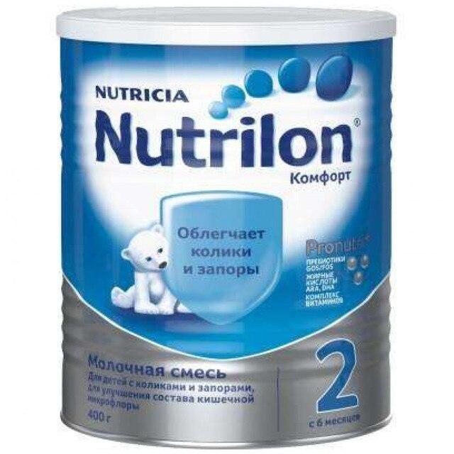 Молочная смесь Nutrilon Комфорт 2 с 6 мес 400 гр