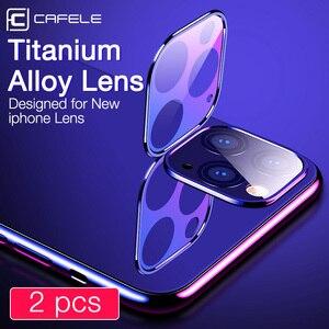 Image 2 - Cafele 2 pièces appareil photo protecteur dobjectif verre trempé pour iPhone 11 pro max Ultra mince 9H verre de protection dur pour iPhone 11 pro max