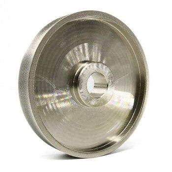 طحن عجلة عجلات تجليخ الماس 360 حصى CBN قطر 150 مللي متر عالية السرعة الصلب للمعادن حجر طحن أداة السلطة h7