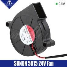 Эксклюзивный вентилятор mellow sunon для 3d принтера 5015 24