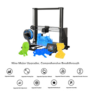 Image 3 - Anet A8 Plus Upgraded Desktop 3D Printer i3 DIY Kits Self Assembly Printing Size 300*300*350mm LCD Control Panel