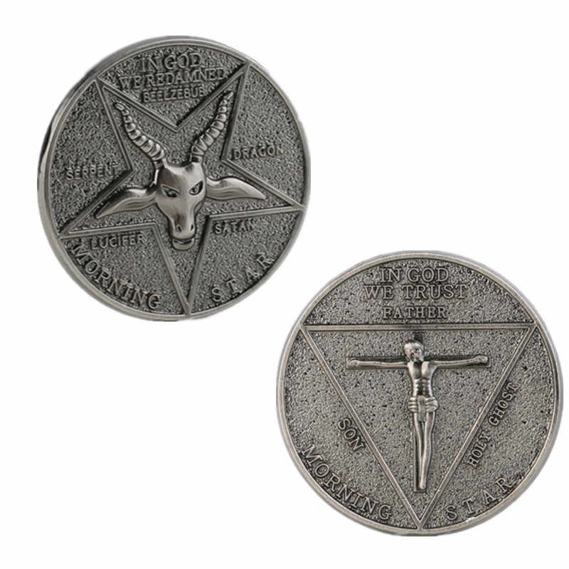 Lucifer Morningstar Cosplay Coin Movie Lucifer Rvs Cosplay Prop
