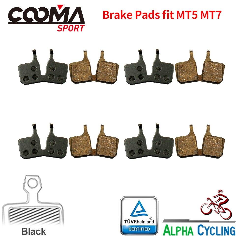 Велосипедные тормозные колодки для Magura MT5 MT7, гидравлический дисковый тормоз, 4 пары, спортивные EX Class, черного цвета