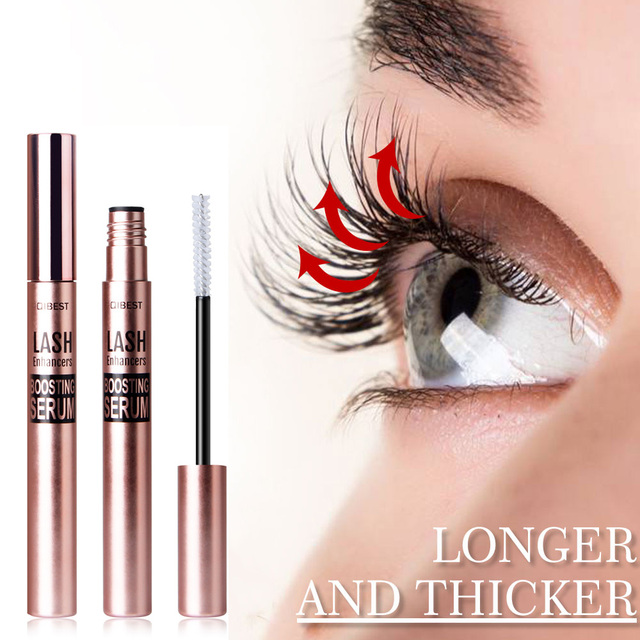 New Eyelash Growth Essence Effectively Strengthens Eyelash Roots Nutrition Long Eyelashes Black Eyelashes Curly Long