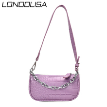 Stone Pattern PU Leather Ladies Hand Shoulder Crossbody Bags