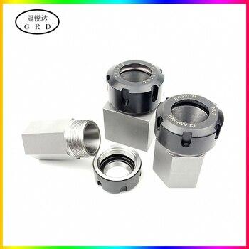 цена на 100% new Hard Steel Hex er25 er32 er40 Square Collet Chuck Holder Block CNC lathe tool holder for cnc lathe engraving machine