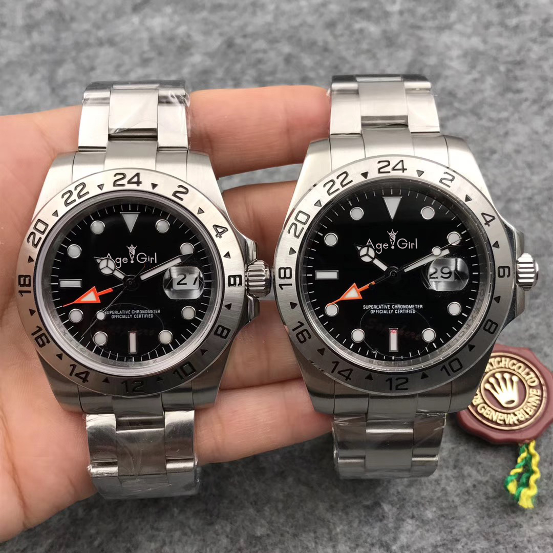 Luxury Brand New Men Automatic Mechanical Watch Black White Stainless Steel Sapphire Diver Limited Sport GMT Watches 40mm 44mm