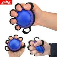 Hand Grip PU Ball Finger Praxis Halbseitenlähmung Übung Muscle Power Gummi Rehabilitation Training Greifer
