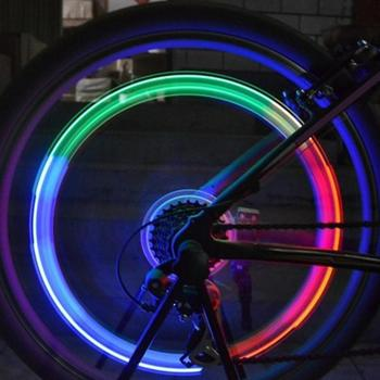 Tire Valve Lamp Flashing LED Light Zinc Alloy Tyre Wheel Light for Car Bicycle image