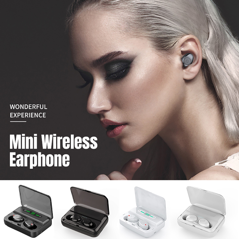 VTIN XT988 TWS Earphone Wireless Bluetooth 5.0 Earphones Stereo Earbuds Life Waterproof Earphones 5H Playtime For iPhone Huawei (11)